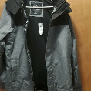 All weather hooded jacket